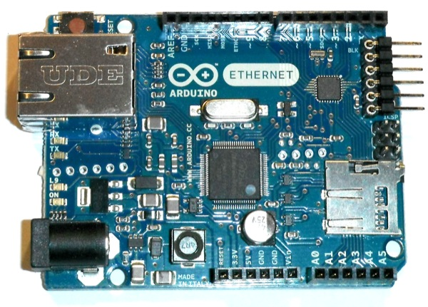 Arduino boards ethernet